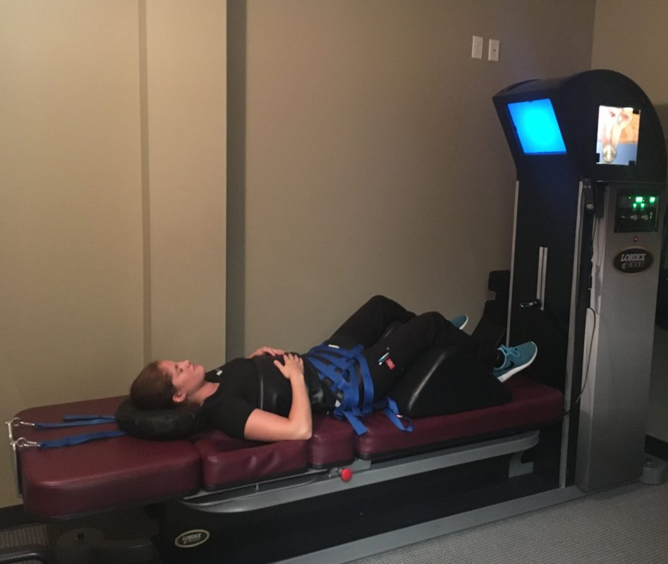 Lordex 3000 spinal decompression technology at NW Injury & Rehab Center