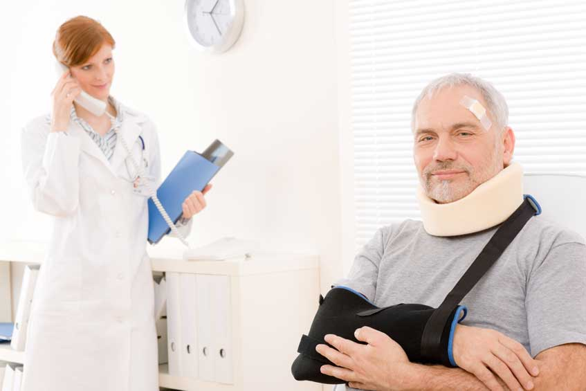 Chiropractic care is a great option for auto collision injury