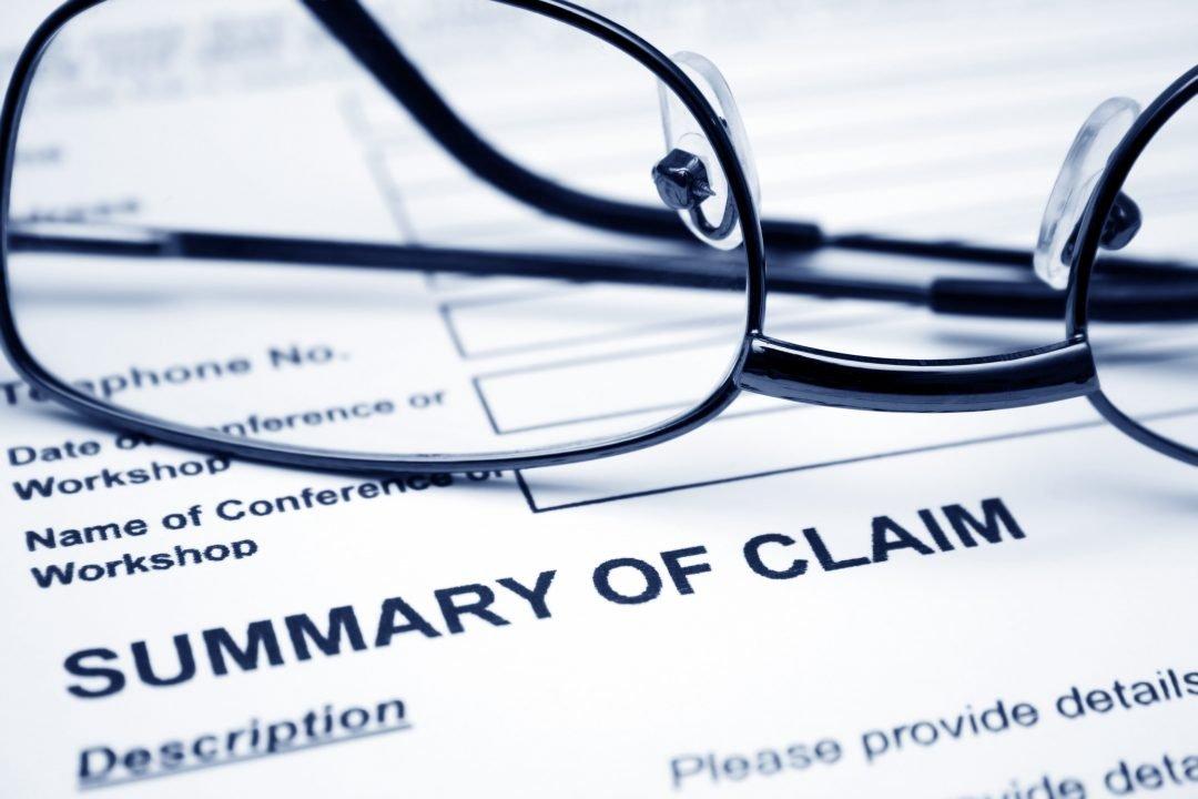 Summary of claim