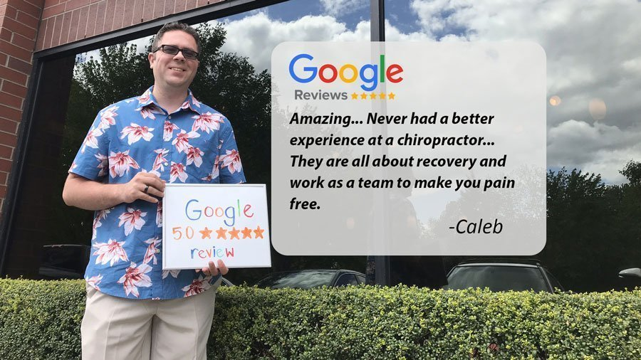 Google Review for NW Injury and Rehab